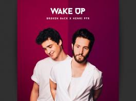 Broken Back x Henri PFR Single 'Wake Up' Artwork